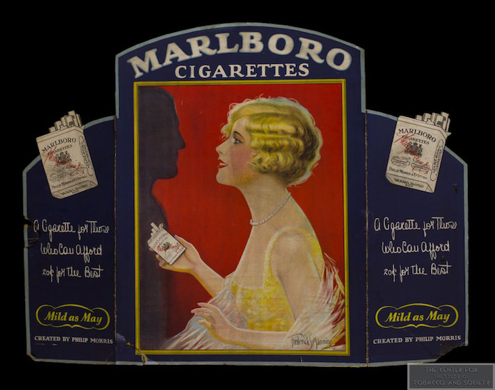 Marlboro Blonde Girl