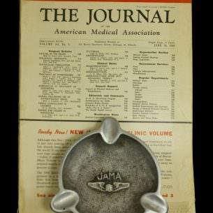 1950 JAMA and Ashtray wm 1