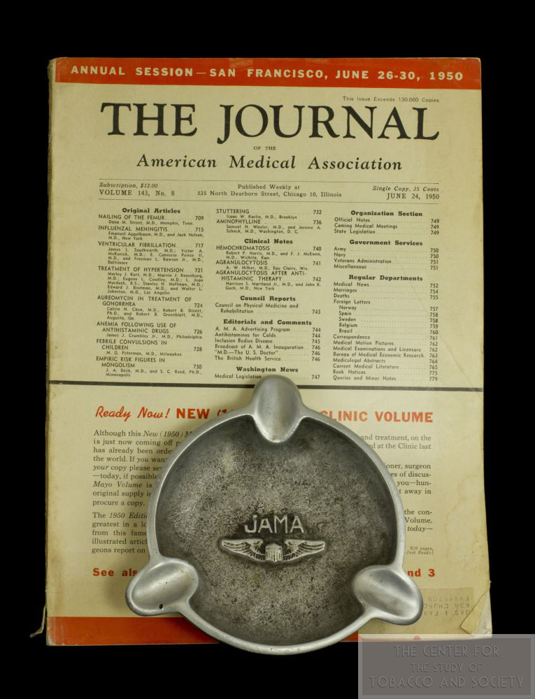 1950 JAMA and Ashtray wm
