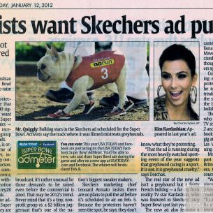2012 01 12 Activists want Sketchers ad pulled wm