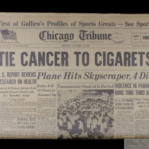 Chicago Tribune Tie Cancer to Cigs 1 wm