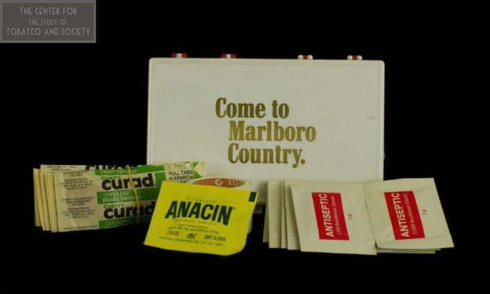 Come to Marlboro Country first aid kit wm