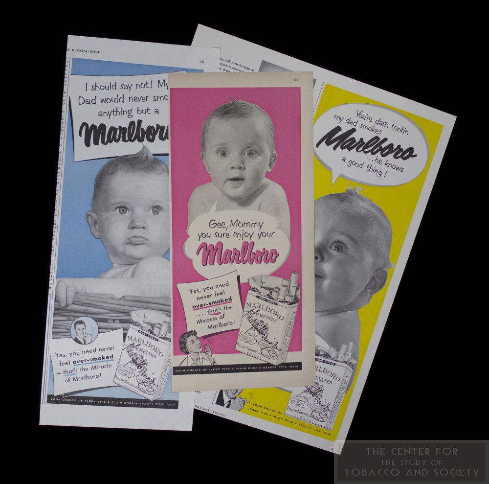 Marlboro Baby Ads 1950 3 Alt View wm