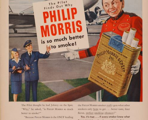 Phillip Morris Pilot Finds Out