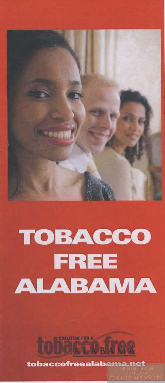 Tobacco Free Alabama brochure wm