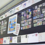 Case of Tobacco Stamps