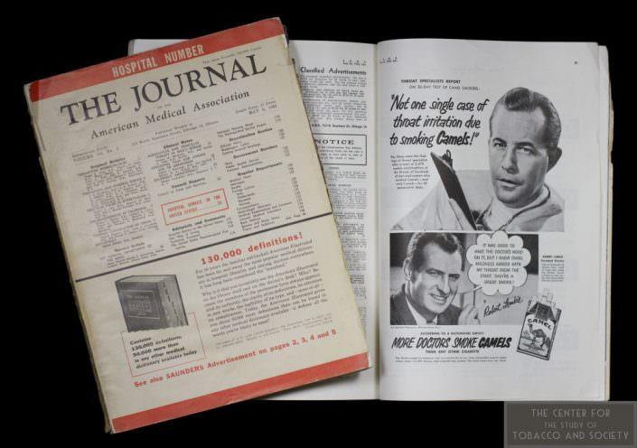 1950 JAMA Camel Ad wm