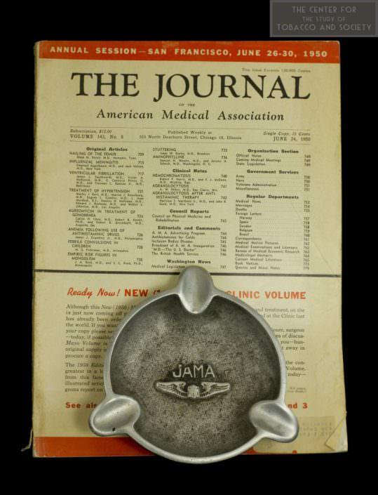 1950 JAMA and Ashtray wm