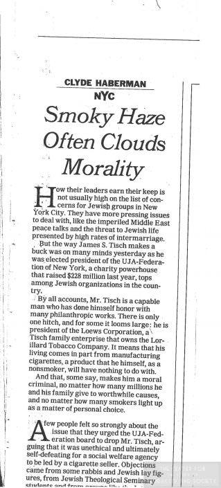 71Smoky Haze Often Clouds Morality May 16 1997