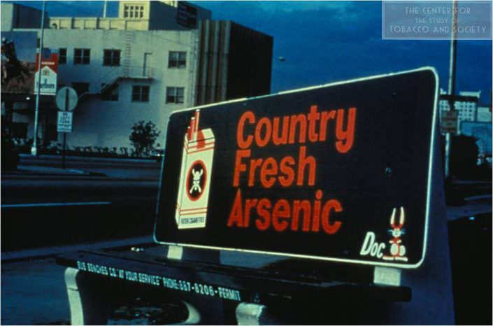 Country Fresh Arsenic bus bench wm
