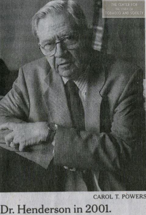D.A. Henderson 3 wm