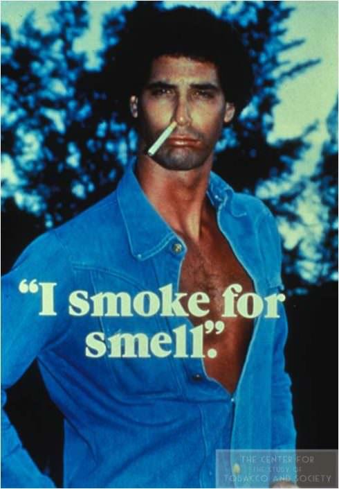 I smoke for smell wm