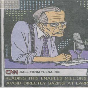 Larry King Cartoon wm