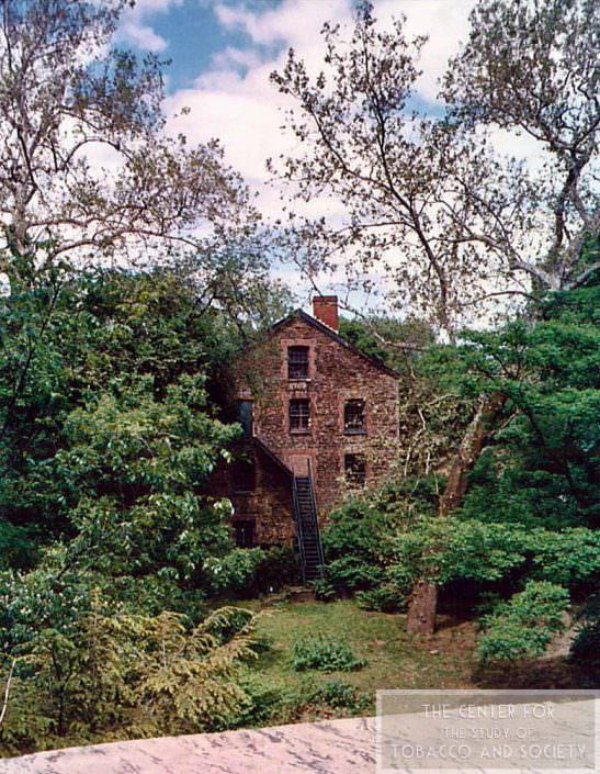 NY Botanical Gardens Snuff Mill wm