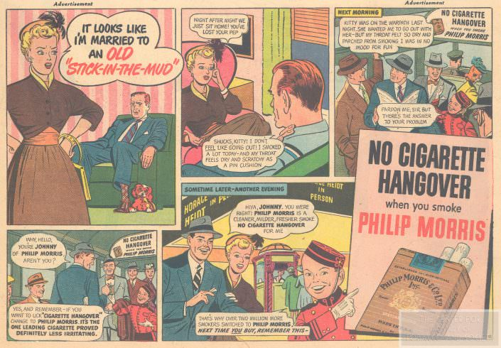 Philip Morris Comic wm