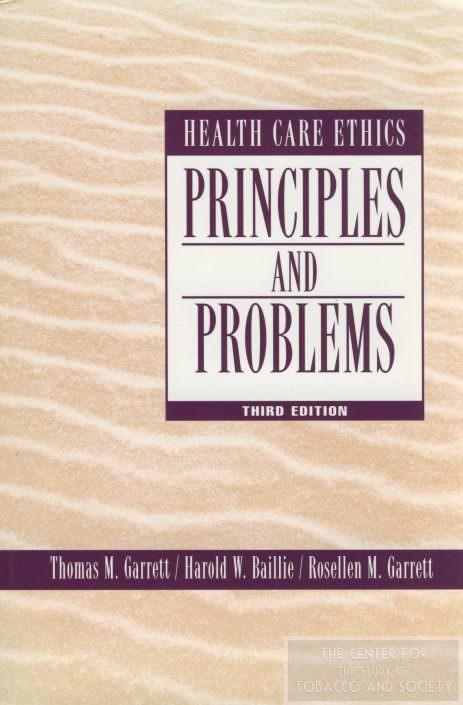 Principles Problems Tom Garrett wm