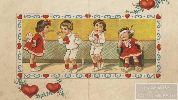 Valentine kids smoking inside wm