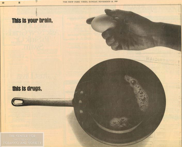 1989 11 26 Ad This is your brain this is your brain on drugs1 wm