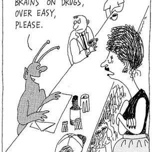 1994 03 Ill have two brains on drugs cartoon wm