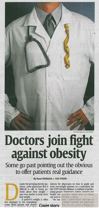 Doctors join fight against obesity wm