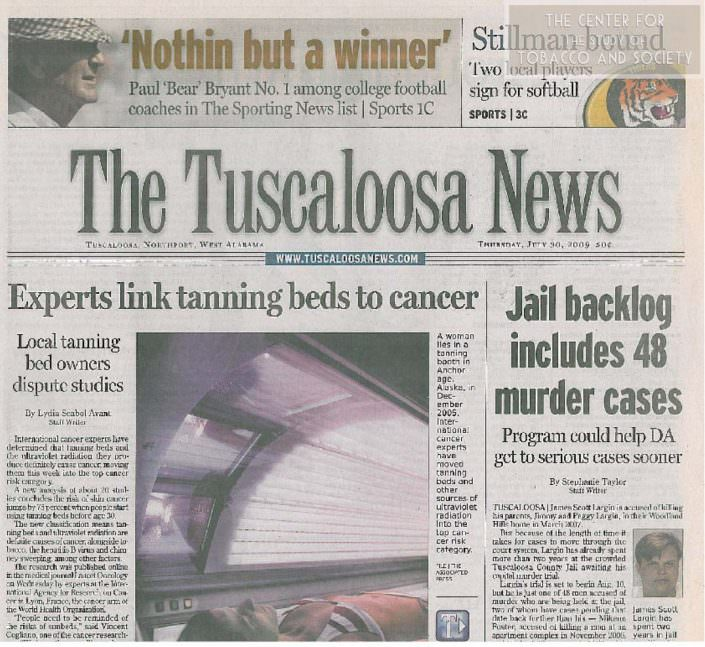Experts link tanning beds to cancer wm