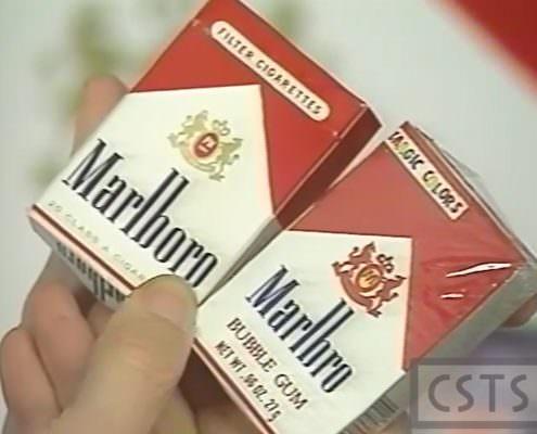 Marlboro cigs Marlbro gum