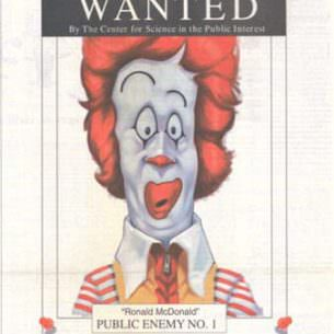 Wanted Ronald McDonald wm