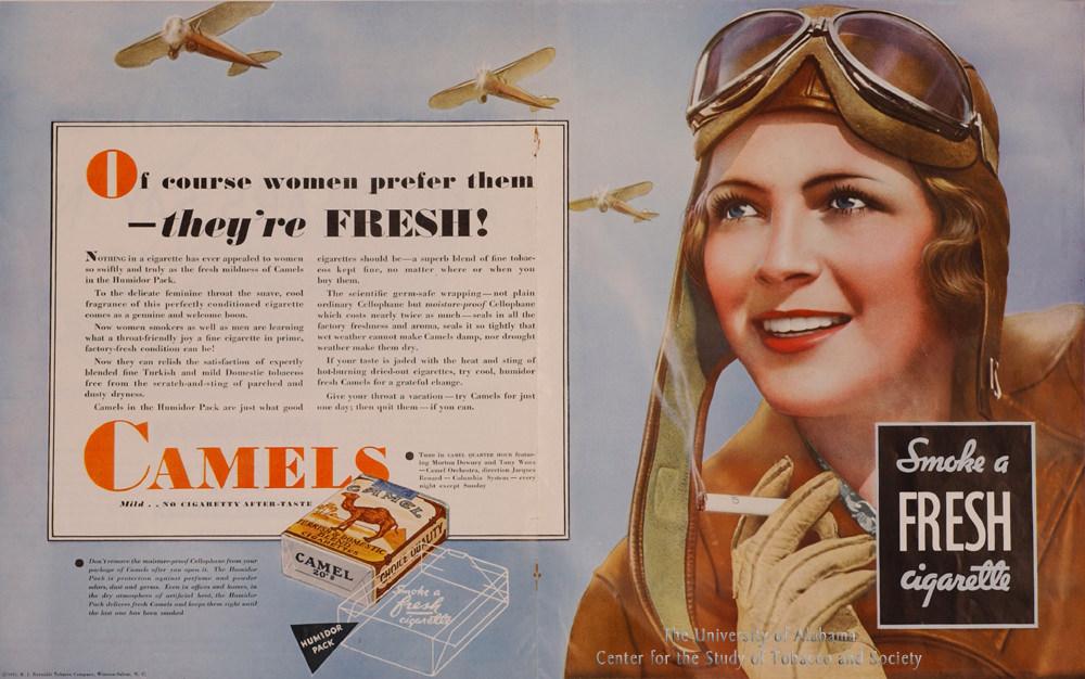 03 Poster Camel Ad Women prefer