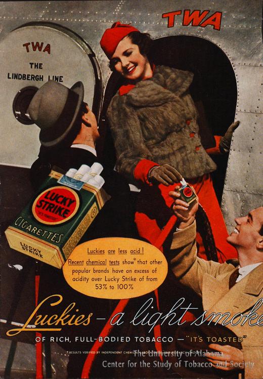 04 Poster Lucky Strike TWA