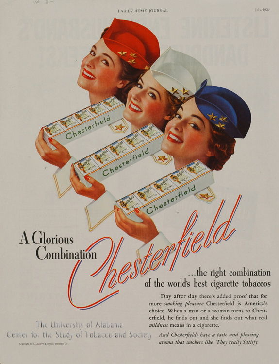 06 Poster Chesterfield ad Glorious Combo