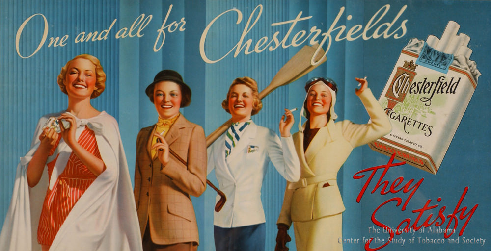 08 Poster Chesterfield Ad One and all for