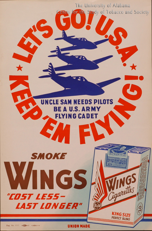 10 Poster Wings Ad Smoke Wings