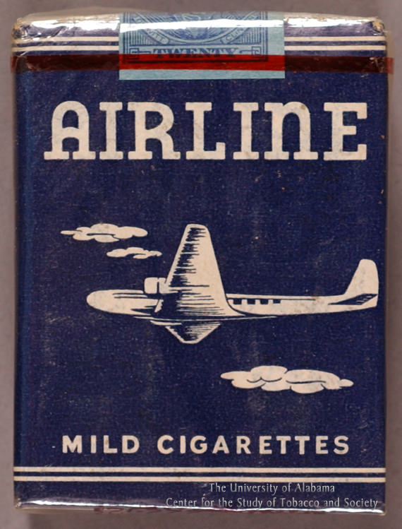 11 Poster Airline Mild Cigs