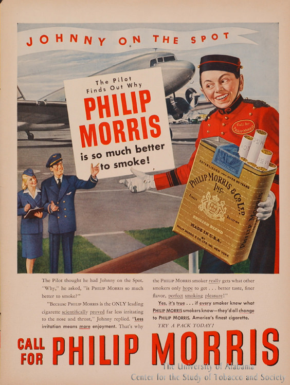 13 Poster Phillip Morris Pilot Finds Out