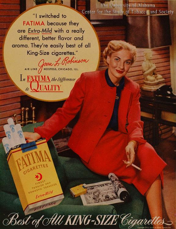 16 Poster 1952 Fatima Ad