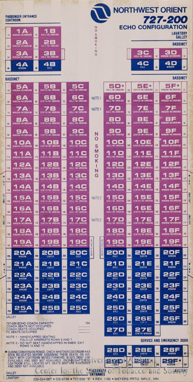 21 Poster Northwest Orient Seating Chart
