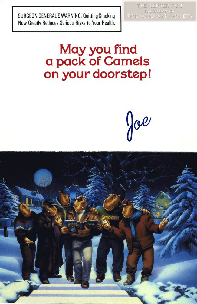 D DI DIT S15 undated Camel Christmas card side A wm