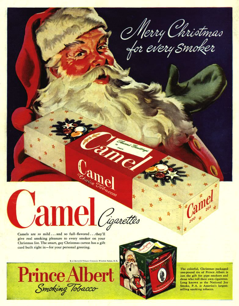D DI DIT S15 undated Camel Merry Christmas
