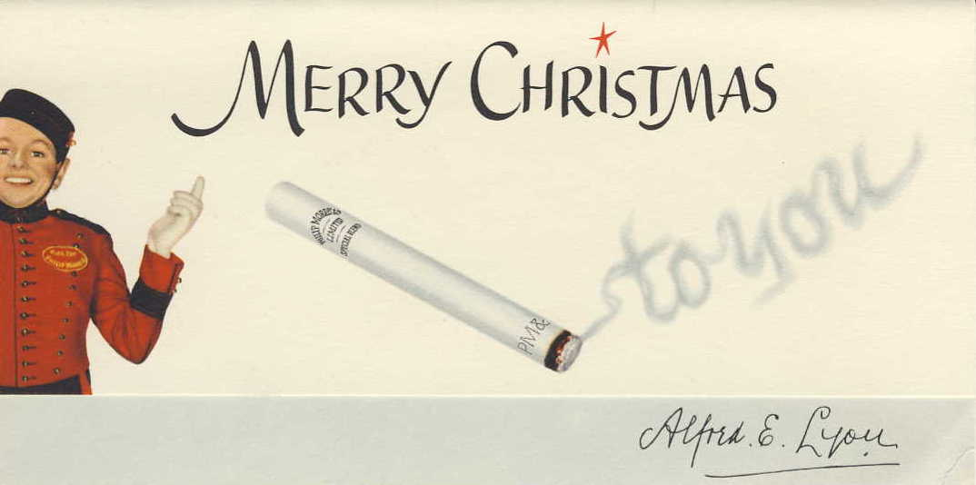 D DI DIT S15 undated Little Johnny Christmas card