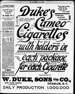 1886 duke nyc ad