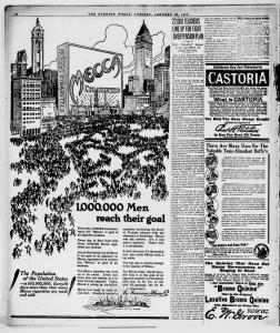 1917 mecca nyc ad