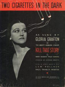 1934 Two Cigarettes in the Dark Gloria Grafton