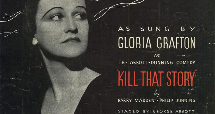1934 Two Cigarettes in the Dark Gloria Grafton