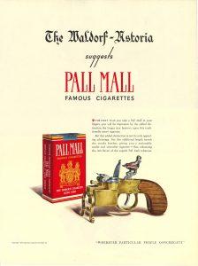 1940 Waldorf Astoria for Pall Mall
