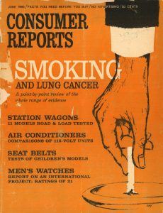 1963 Consumer Reports Smoking and Lung Cancer