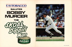 1983 US Tobacco salutes Bobby Murcer
