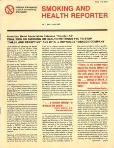 1985 Smoking and Health Reporter  p1
