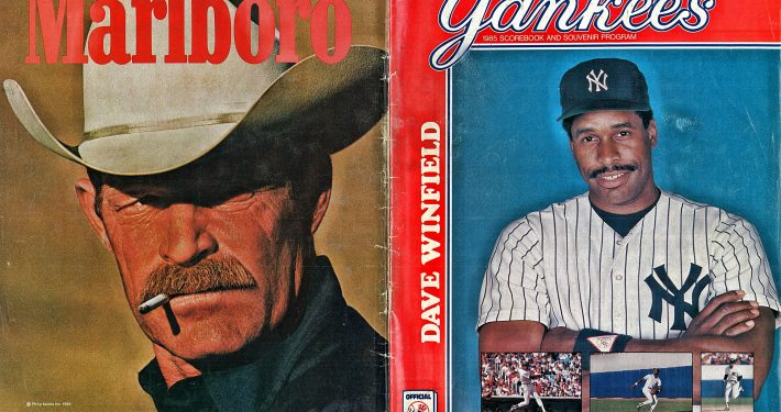 1985 Yankees Program