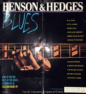 1991 BH Blues poster