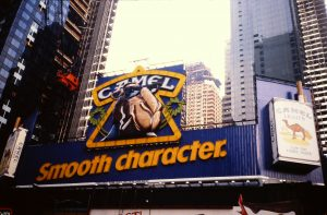 Camel Smooth Character sign